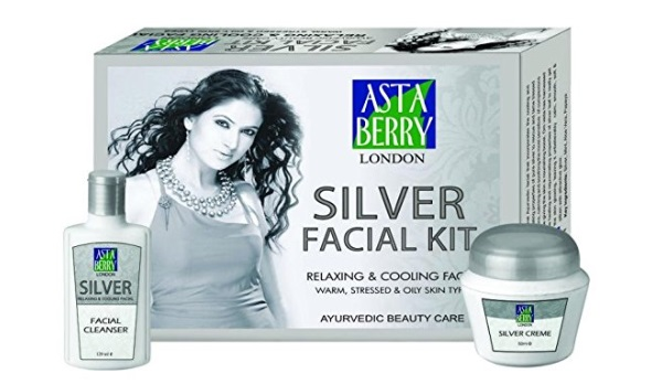 Astaberry Silver Facial Kit
