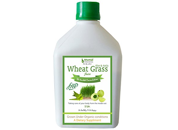 Bhumija Lifesciences Wheat Grass Juice with Aloevera & Amla