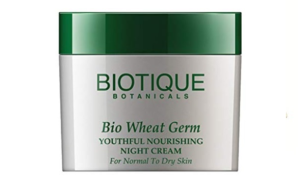 Biotique Bio Wheat Germ Firming Face and Body Cream for Normal to Dry Skin
