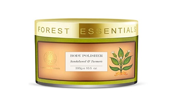 Forest Essentials Sandalwood and Turmeric Body Polisher
