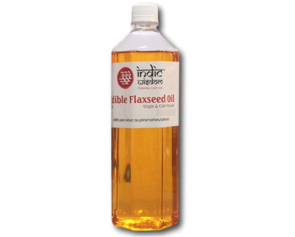 IndicWisdom Cold Pressed Flaxseed Oil
