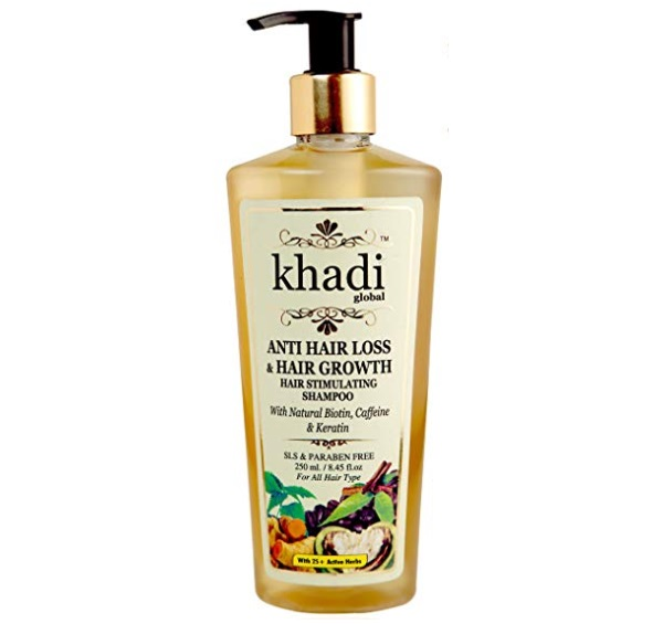 Khadi Global Anti Hair Loss and Hair Growth Stimulating Shampoo