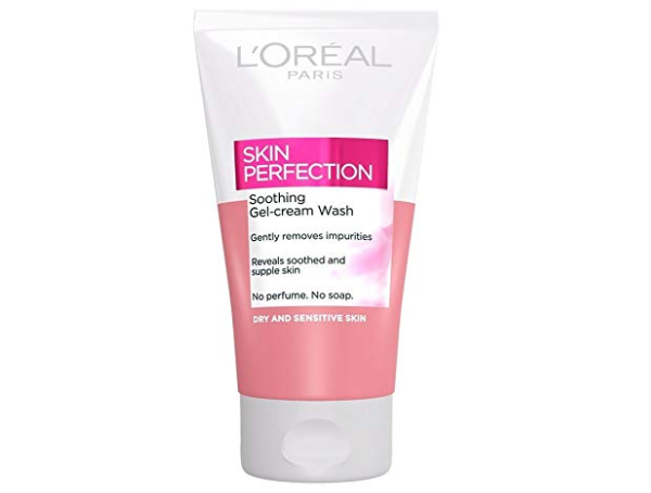 L'Oreal Skin Perfection Soothing Gel-Cream Wash for Dry & Sensitive Skin