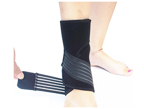 MEDITIVE high quality breathable neoprene material adjustable ankle support