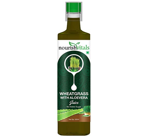 Nourish Vitals WheatGrass With AloeVera Juice
