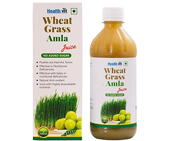 Nutriorg No Sugar 100% Natural Wheat Grass Juice