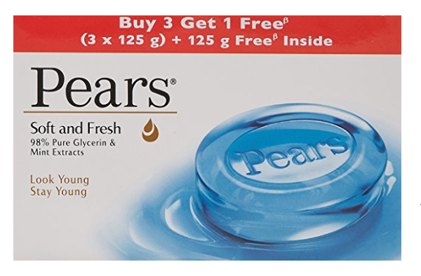 Pears Soft and Fresh Bathing Bar