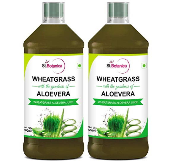 Stbotanica Wheatgrass With Aloe Vera Juice