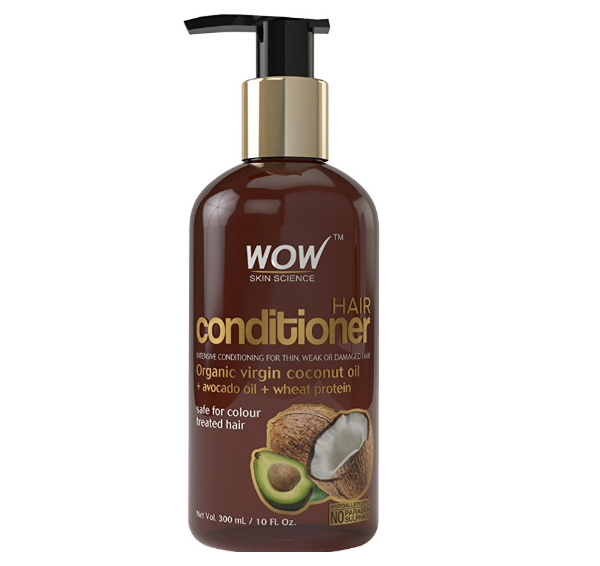 WOW Coconut No Sulphate and Parabens Hair Conditioner