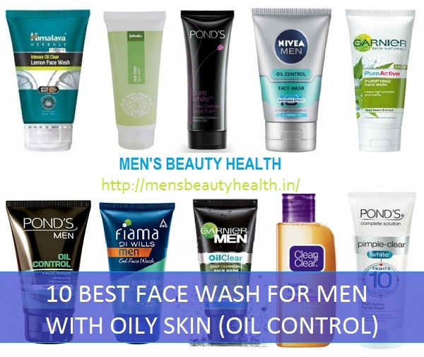 Oil control face wash for men with oily skin in india