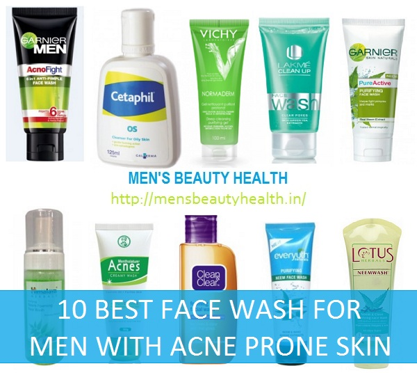 10 Best Men S Face Wash For Acne Prone Skin In India Reviews 2020