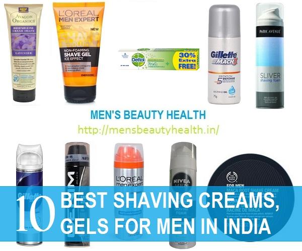 Shaving Creams for Men in India