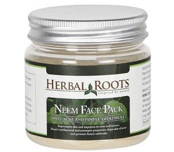 Herbal Roots Anti Acne Pimple Care And Pimple Remover Neem Face Pack
