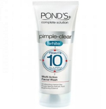 Oil control face wash for men with oily skin in india ponds