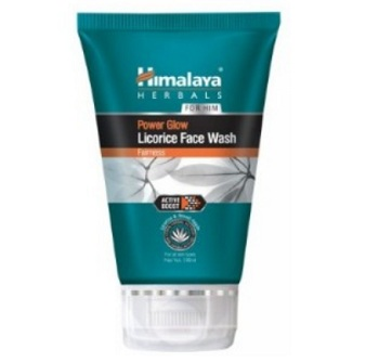 himlaya fairness face wash for men