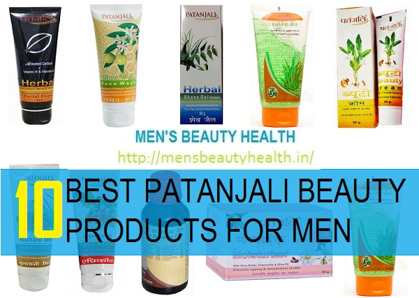 10 best patanjali beauty products for men