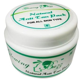 Glowing Buzz Natural Anti Tan Pack