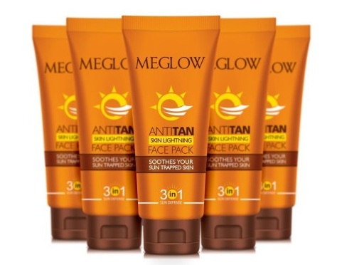best anti tan face pack