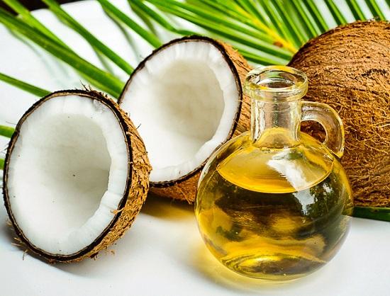 coconut oil for men's damaged hair