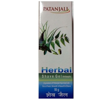 best patanjali beauty products for men shave gel