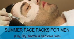 summer face packs for men