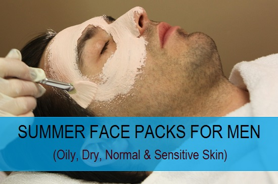 summer face packs for men