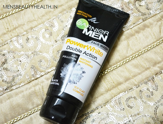 Garnier Men Power White Double Action Face wash Review 3