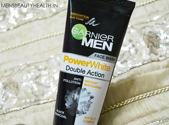 Garnier Men Power White Double Action Face wash Review