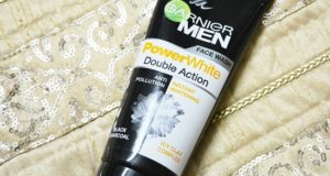 Garnier men powerwhite double action face wash review 4