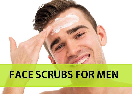 Homemade Face Scrubs for Men for fairness, dark spots, glow