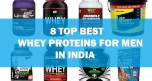 Best Whey Protein Brands for Men in India