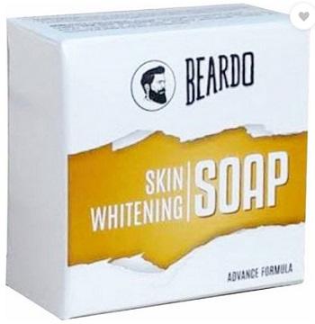 beardoBest Men's Skin Whitening Soap For Men in India with Price