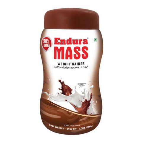 endura 8 Best Weight/ Mass Gainer Supplements in India