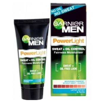 Garnier Men PowerLight Oil Control + Fairness moisturiser