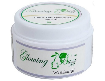 glowing buzz 8 Top Best Anti Tan Facial Scrub for Men in India with Price