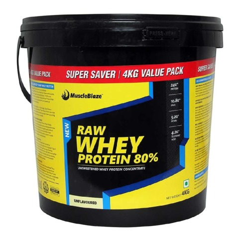 muscleblAZE Best Whey Protein Brands for Men in India
