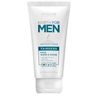 oriflame Best Skin Whitening /Fairness Face Scrubs for Men in India