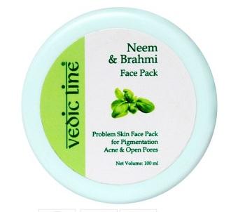 vedic-line-neem-brahmi-face-pack