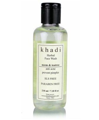 Khadi Natural Neem and Tea Tree Face Wash