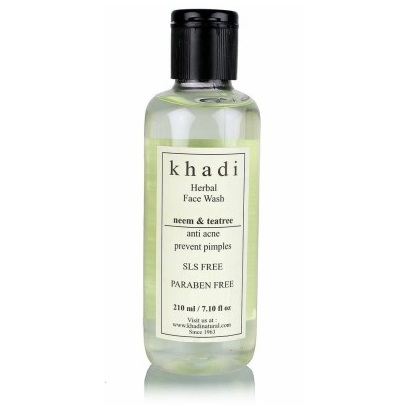 khadi Best Oily Skin Face Wash for Men in India