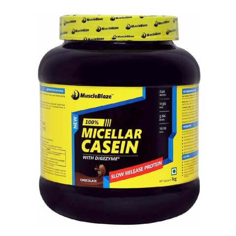 muscleblaze 8 Top Best Casein Protein Powder Supplements in India with Price