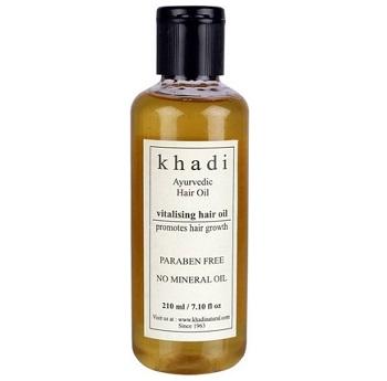 khadi Ayurvedic hair oil for men in India