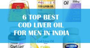 6 Best cod liver oil for men in India