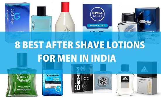 8 Best aftershave lotions for men in India