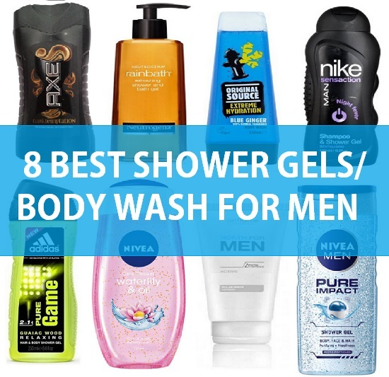 8 Best Shower Gel for Men in India with Price