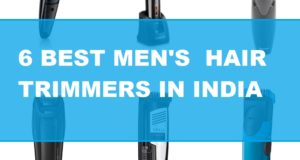 6 Best trimmers for men in India