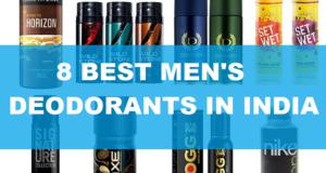 8 Best deodorants for men in India