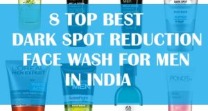 best pimple dark spots face wash for men in india
