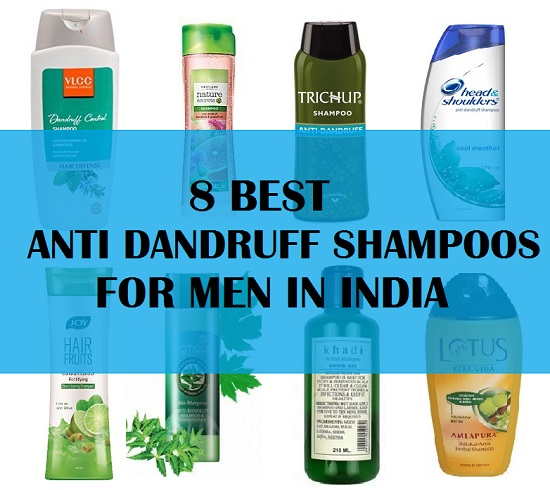 8 best anti dandruff shampoo for men in india