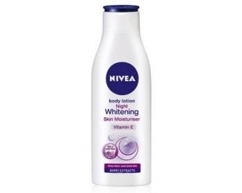 Nivea Night Whitening Skin Moisturiser Body Lotion
